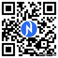 QR code with logo 1MzN0