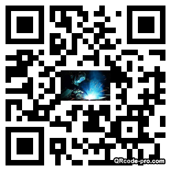 QR code with logo 1N130