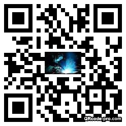 QR code with logo 1N190