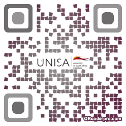QR code with logo 1N680