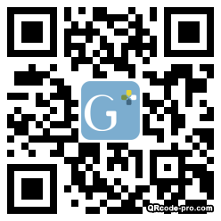 QR code with logo 1N7S0