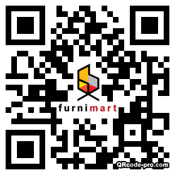 QR code with logo 1NAd0