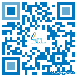 QR code with logo 1NC90