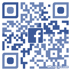 QR code with logo 1NDV0