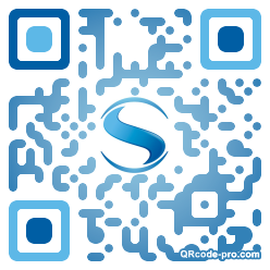 QR code with logo 1NFr0