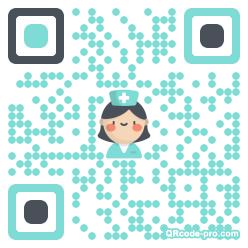 QR code with logo 1NKK0