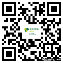 QR code with logo 1NL10