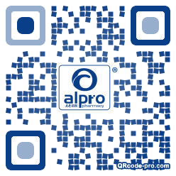 QR code with logo 1NL40
