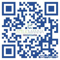 QR code with logo 1NLc0