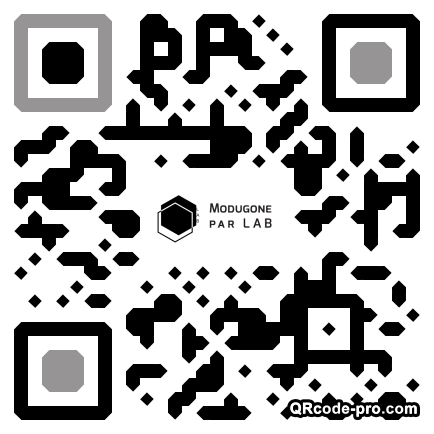 QR code with logo 1NNX0