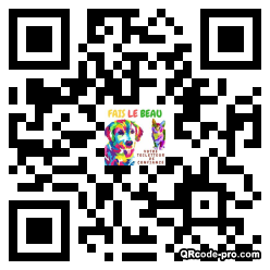QR code with logo 1NP00