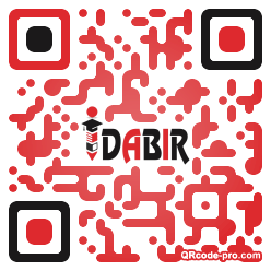 QR code with logo 1NVT0