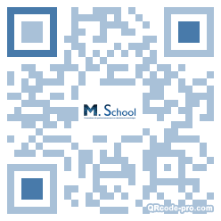 QR code with logo 1NWH0
