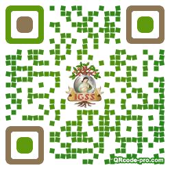 QR code with logo 1NeB0