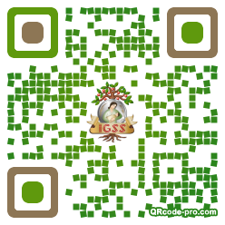 QR code with logo 1NeD0