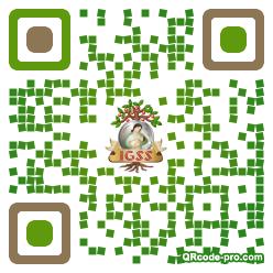 QR code with logo 1NeF0