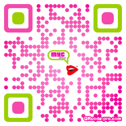 QR code with logo 1Nm60