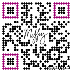 QR code with logo 1NvW0