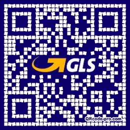 QR code with logo 1OBN0