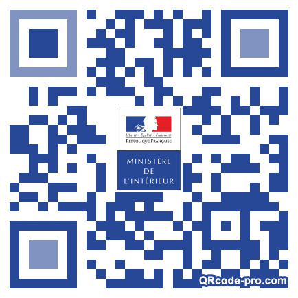QR code with logo 1OQU0