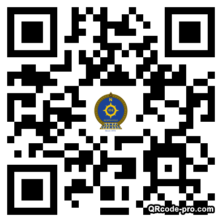 QR code with logo 1OVQ0