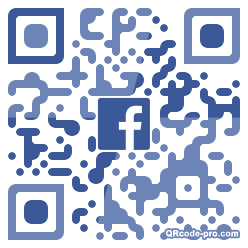 QR code with logo 1OZH0