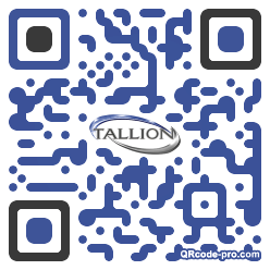 QR code with logo 1OfX0