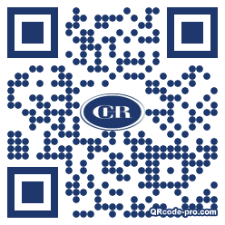 QR code with logo 1Off0