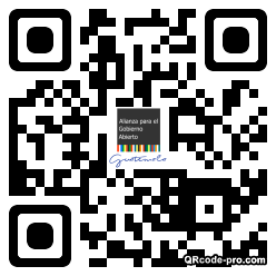 QR code with logo 1Oge0
