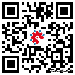QR code with logo 1OjQ0