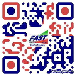 QR code with logo 1Om70