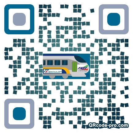 QR code with logo 1Oms0