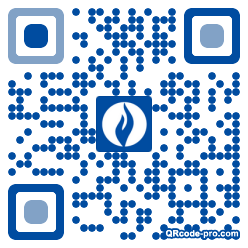 QR code with logo 1Ops0
