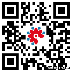 QR code with logo 1OrY0