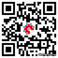 QR code with logo 1Os00