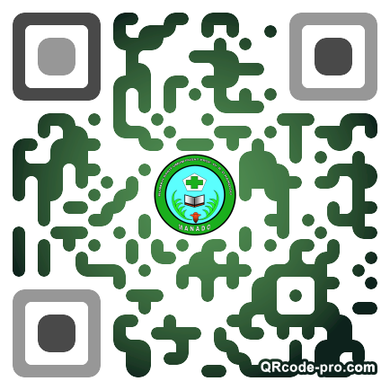 QR code with logo 1Os20