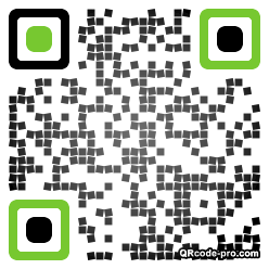 QR code with logo 1Ox30