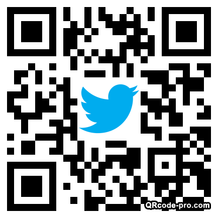 QR code with logo 1P3T0