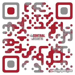 QR code with logo 1P4G0