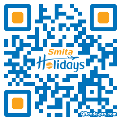 QR code with logo 1P5H0