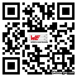 QR code with logo 1P6F0