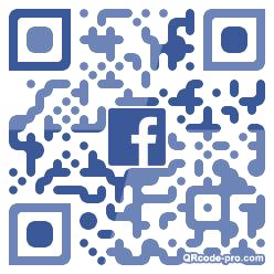 QR code with logo 1P8K0