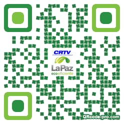 QR code with logo 1P8T0