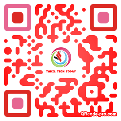 QR code with logo 1P9Y0
