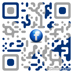 QR code with logo 1P9z0
