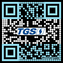 QR code with logo 1PA10