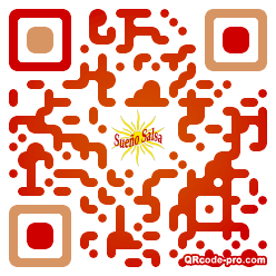 QR code with logo 1PAE0