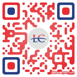 QR code with logo 1PCf0