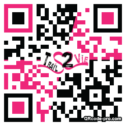 QR code with logo 1PF40