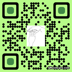 QR code with logo 1PG80